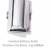 Limited Edition Solid Perfume Necklace, Chloé