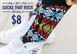 Shop Socks That Rock: 80+ Styles from $8