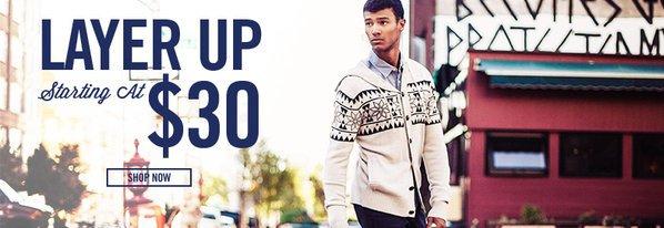 Shop Layer Up: Starting at $30
