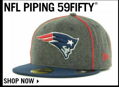 Shop NFL Piping 59FIFTY Collection