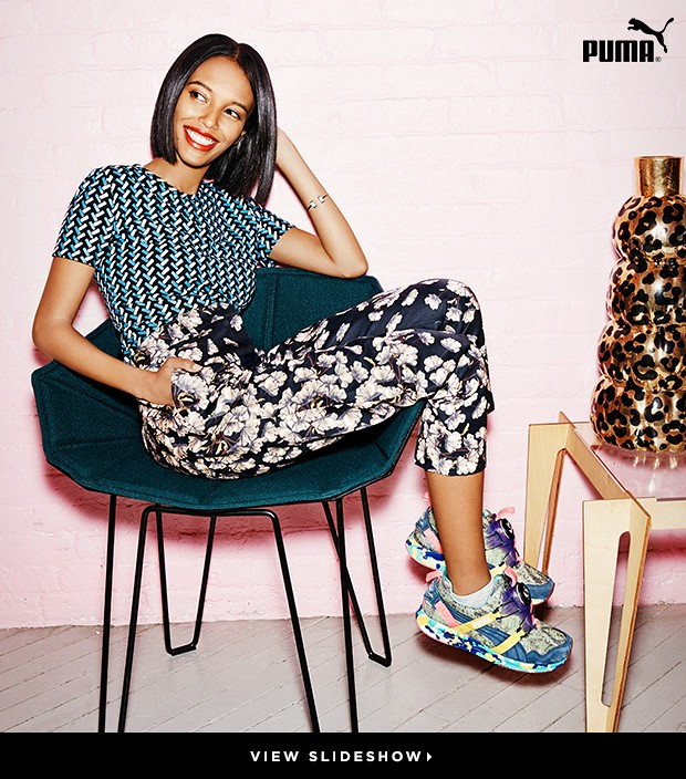 Solange Picks 4 Bright Young Things To Model PUMA's Latest Looks