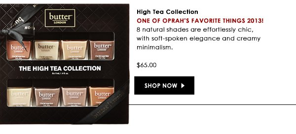 20% off of High Tea Collection