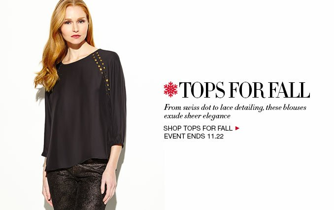 Shop Womens Tops for Fall