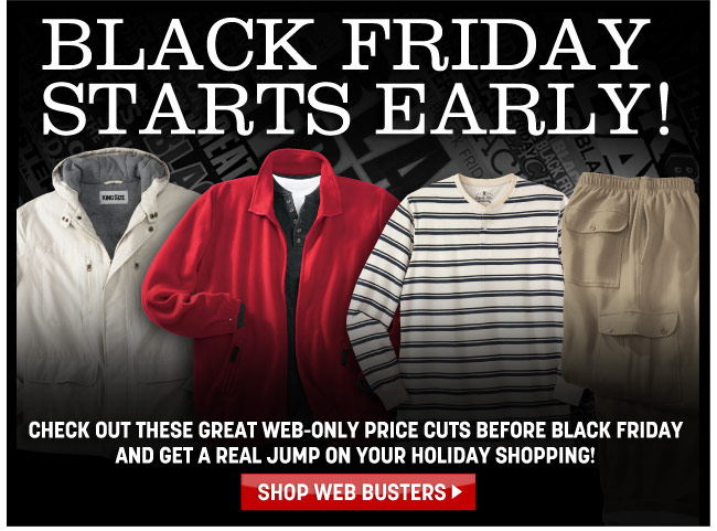 black friday starts early - click the link below