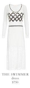 THE SWIMMER dress $750