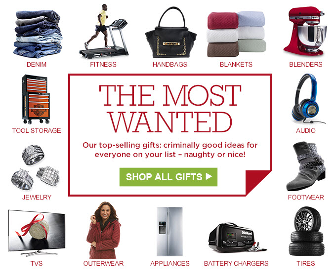 THE MOST WANTED | Our top-selling gifts: criminally good ideas for everyone on your list - naughty or nice! | SHOP ALL GIFTS
