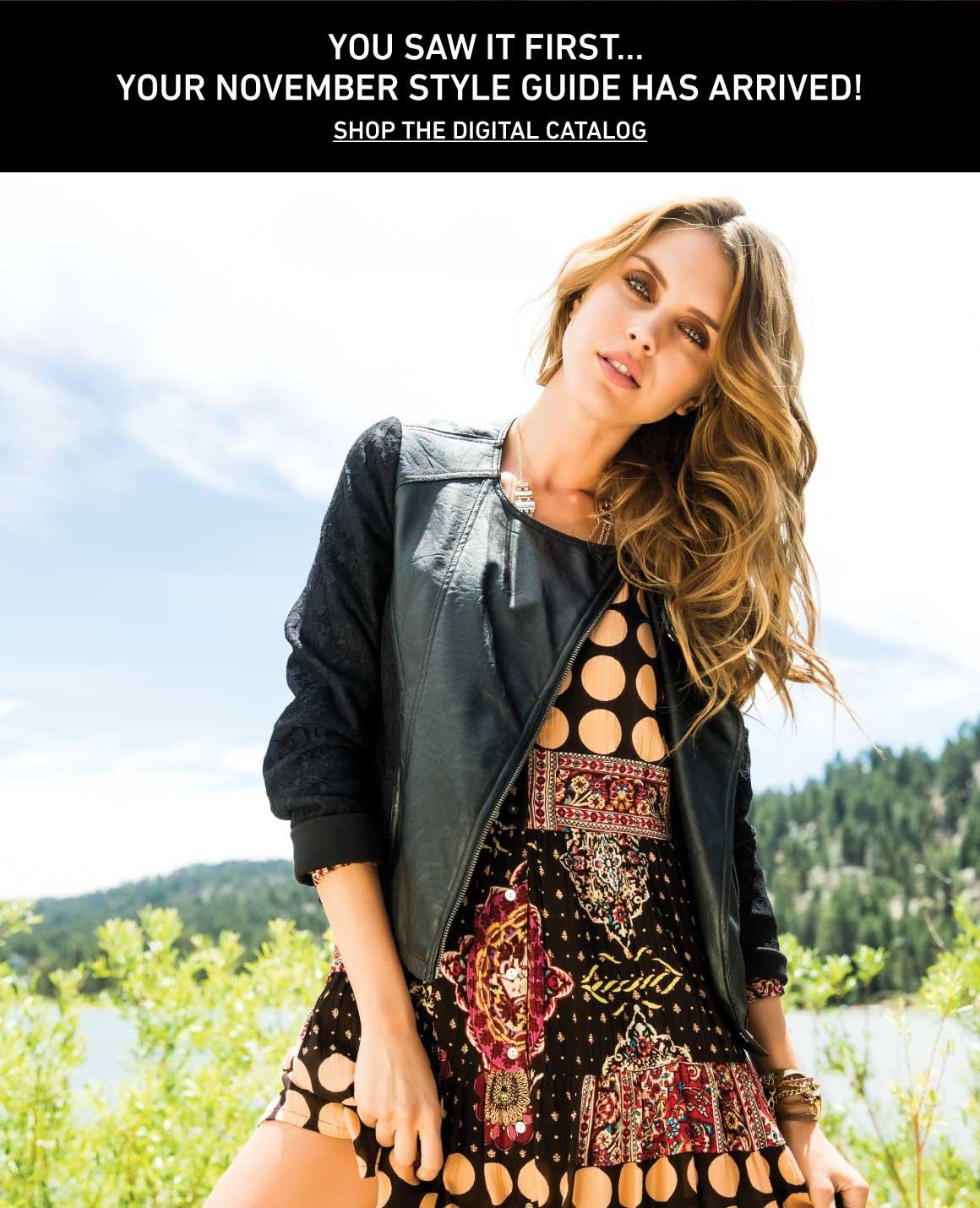 Shop The November Catalog