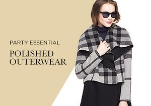 Party Essential: Polished Outerwear