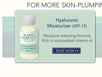 Hyaluronic Moisturizer (spf 15)