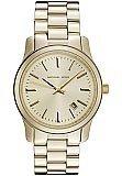 Michael Kors MK5160 Women's Gold Tone Runway Watch