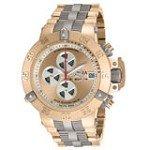 Invicta 11643 Men's Subaqua Noma III Rose Gold Steel & Titanium Bracelet Automatic Chronograph Dive Watch