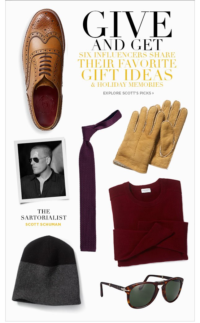 The Sartorialist Scott Schuman Shares His Holiday Picks