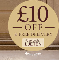 £10 off & Free Delivery - use code LJETEN