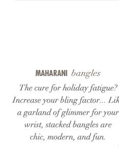 Maharani bangles