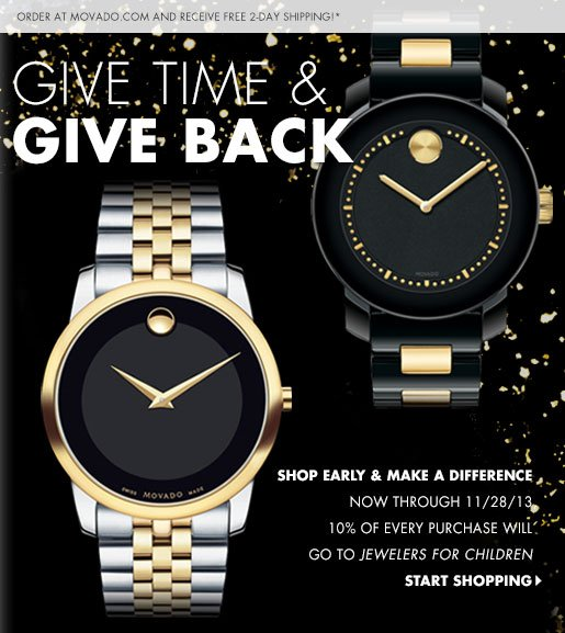 GIVE TIME & GIVE BACK