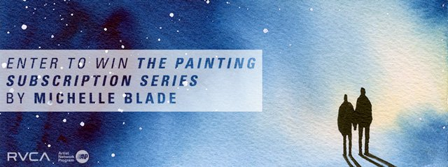 Enter to Win Michelle Blade Paintings