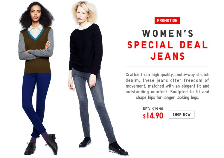 WOMEN'S SPECIAL DEAL JEANS