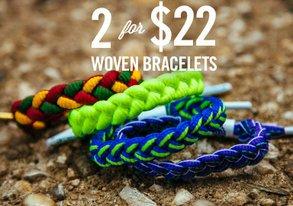 Shop New Woven Bracelets by Rastaclat