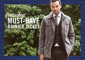 Shop RESTOCKED: Must-Have Rainier Jacket