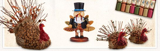 Save up to 50% on Harvest Décor