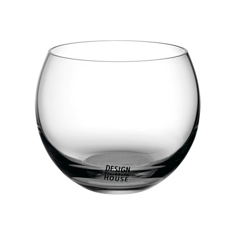 Globe Glasses // Set of 4