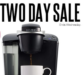 2-Day Sale Ends Wednesday.