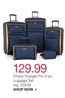 129.99 Chaps Voyager Pro 5-pc. Luggage Set reg. 339.99. shop now
