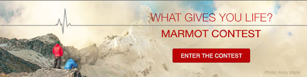 Marmot Contest - What Gives You Life?