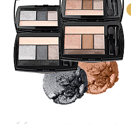 COLOR DESIGN EYE SHADOW IN TAUPE CRAZE AND GRIS FATALE