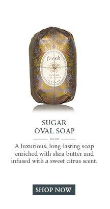SUGAR OVAL SOAP