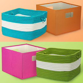 Stylish Storage: Baskets & Bins