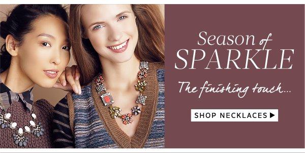 Season of Sparkle: Shop Necklaces