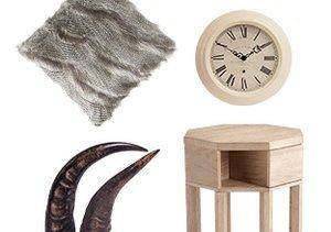 Winter Cabin: Wood, Fur & More
