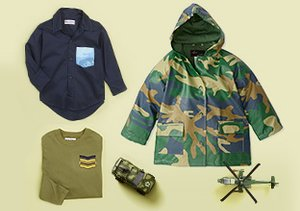 Camo Cool: Kids' Clothes