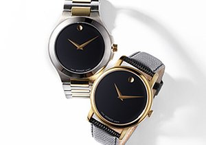 Classic Timepieces: Movado, Tissot & More