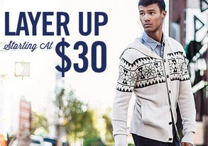 Shop Layer Up: Starting at $30