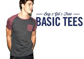 Shop Basic Tees to Build On
