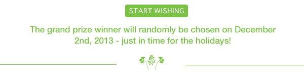 *Create your Wishlist!