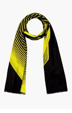 CHRISTOPHER KANE YELLOW HEAD SCARF for men