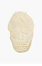 ALEXANDER MCQUEEN Brass Skull Money Clip for men
