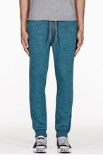 DIESEL Green PASCALE Lounge PANTS for men