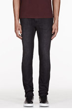 MARC BY MARC JACOBS Dark charcoal SHADOW jeans for men