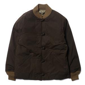 Needles Rib Collar Down Jacket With Oriental Button