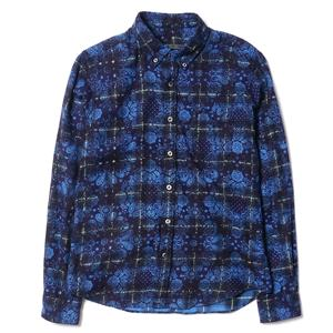 Sophnet Bandana Flannel Check B.D Shirt