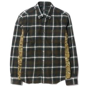 Sophnet Camouflage Side Panel Flannel Check B.D Shirt