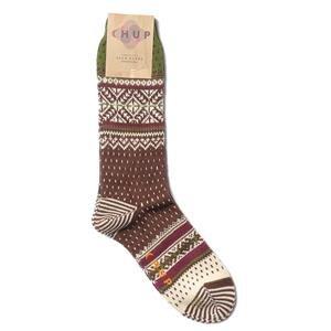 CHUP Genser Sock Green