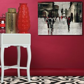 Black & Red: Textiles & Décor