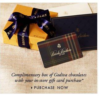 COMPLIMENTARY BOX OF GODIVA