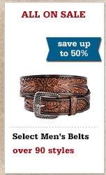 Mens Belts 50 Off