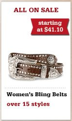 All Womens Bling Belts on Sale